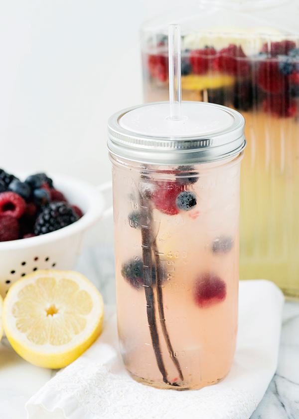Vanilla Berry Lemonade