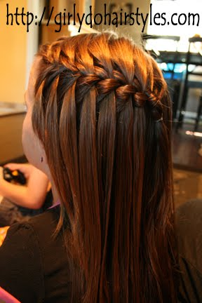 water fall hair style 25 awesome hairstyles for them look 9708