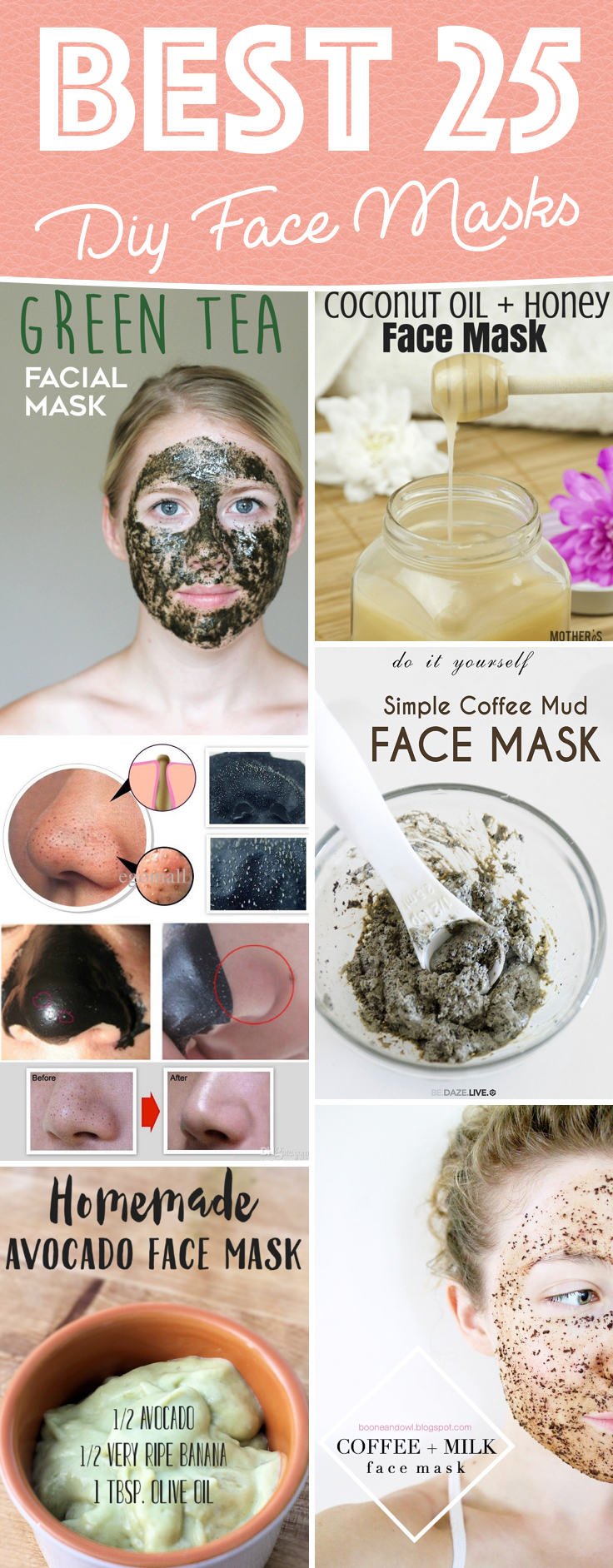 25 Diy Face Masks Casting A Magical Spell On Your Skin
