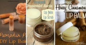 make your own diy lip balm