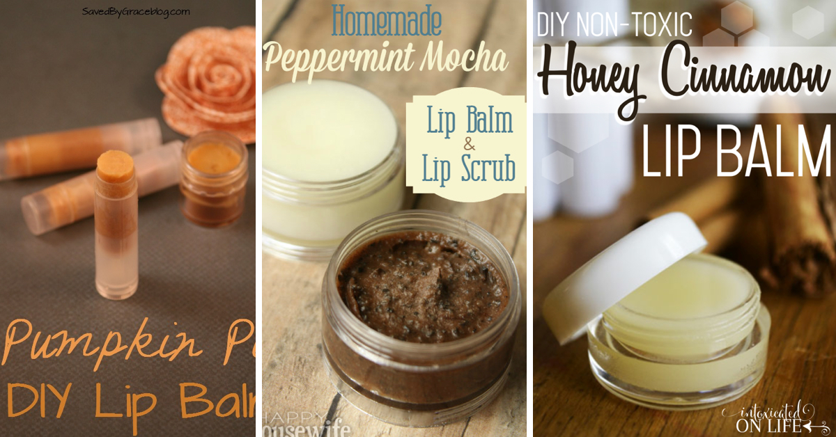 how to make your own lip balm easy