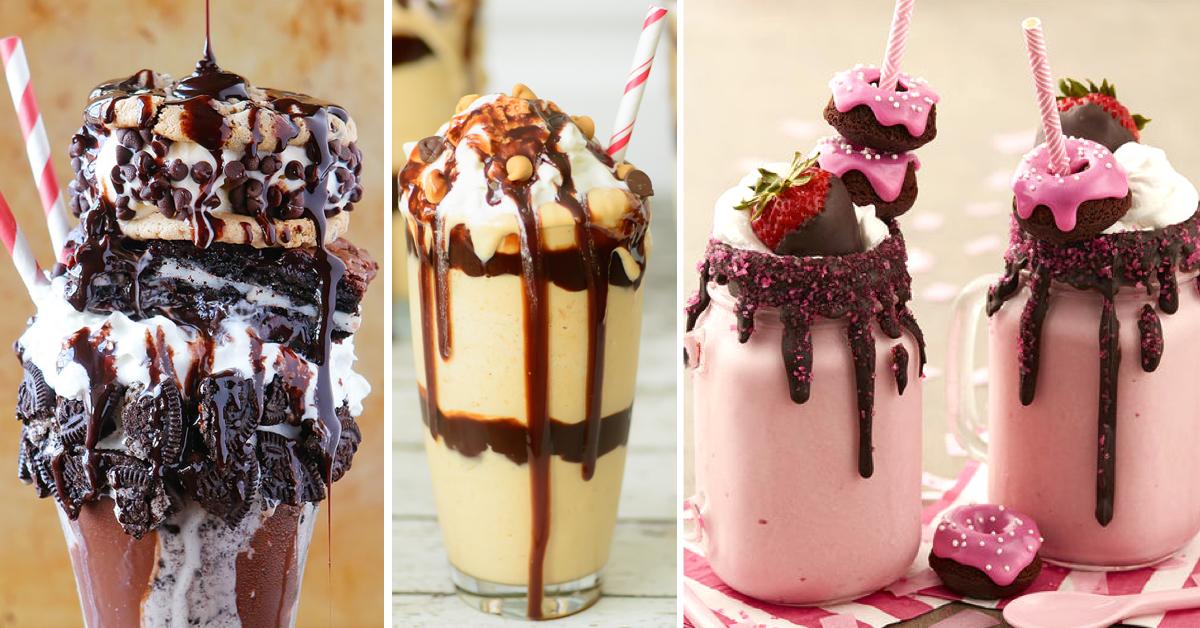 how to make a creamy milkshake