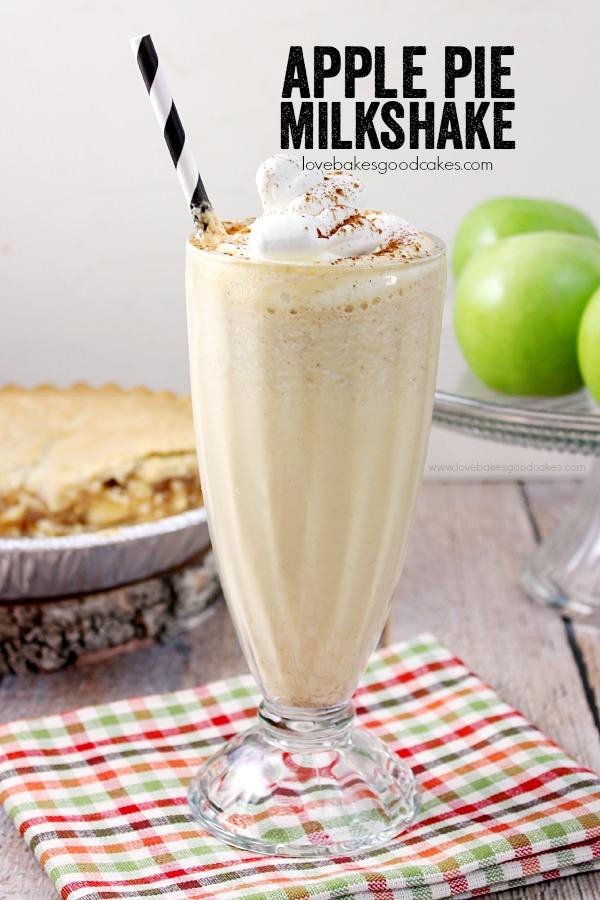Apple Pie Milkshake