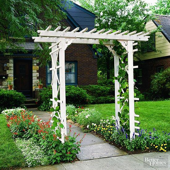 Build a Simple Entry Arbor