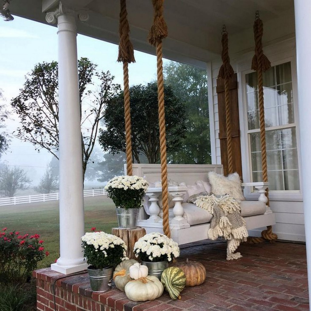 Charming Porch Swing
