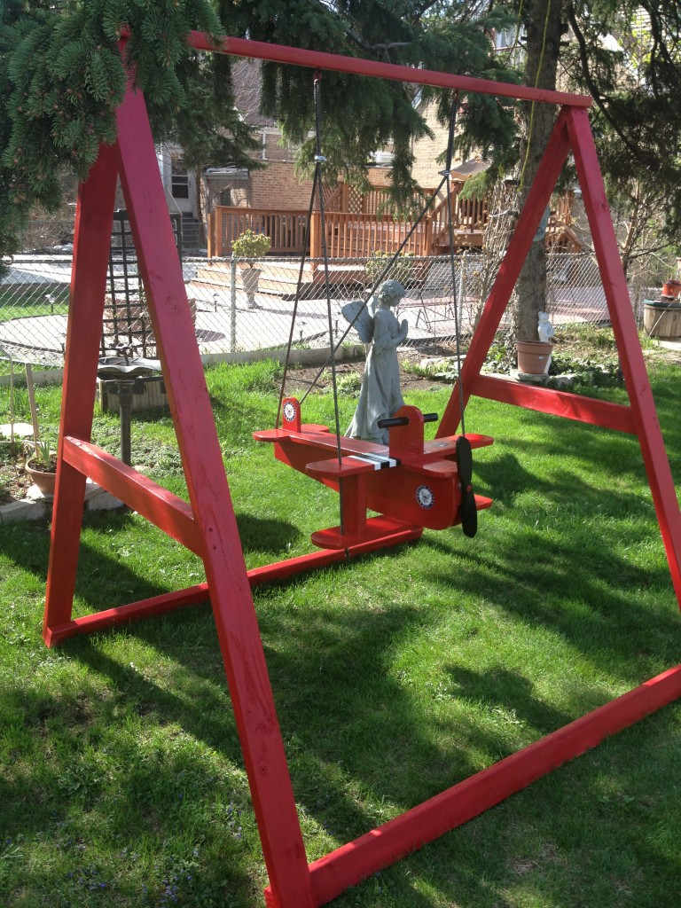 Child Airplane Swing