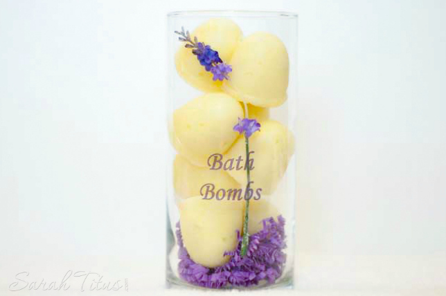 DIY Bath Fizzy Bombs