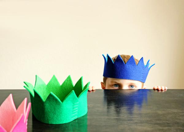 DIY Felt Crown