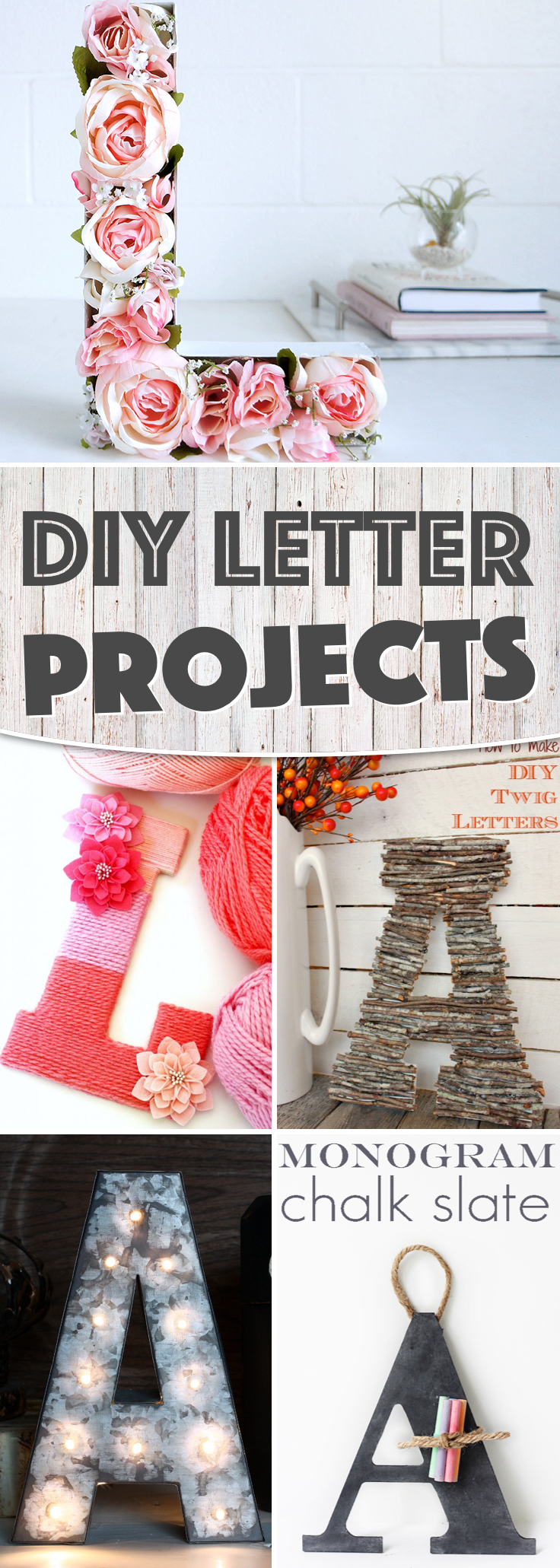 DIY Letter Projects