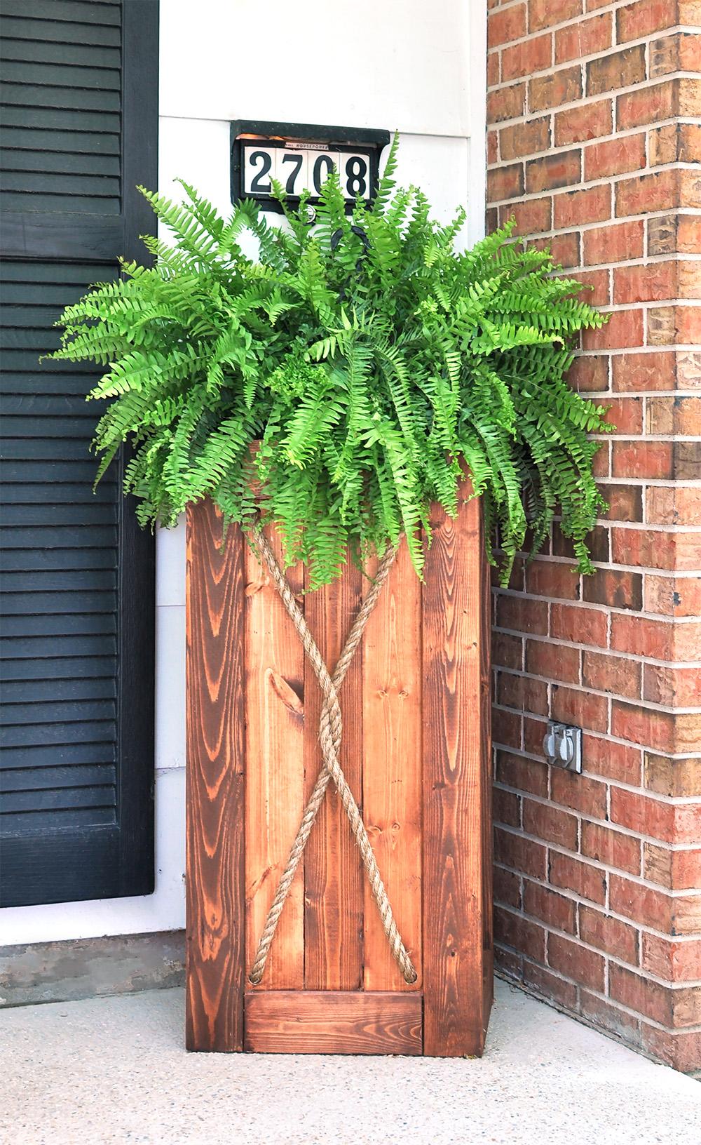 DIY Planter Tutorial