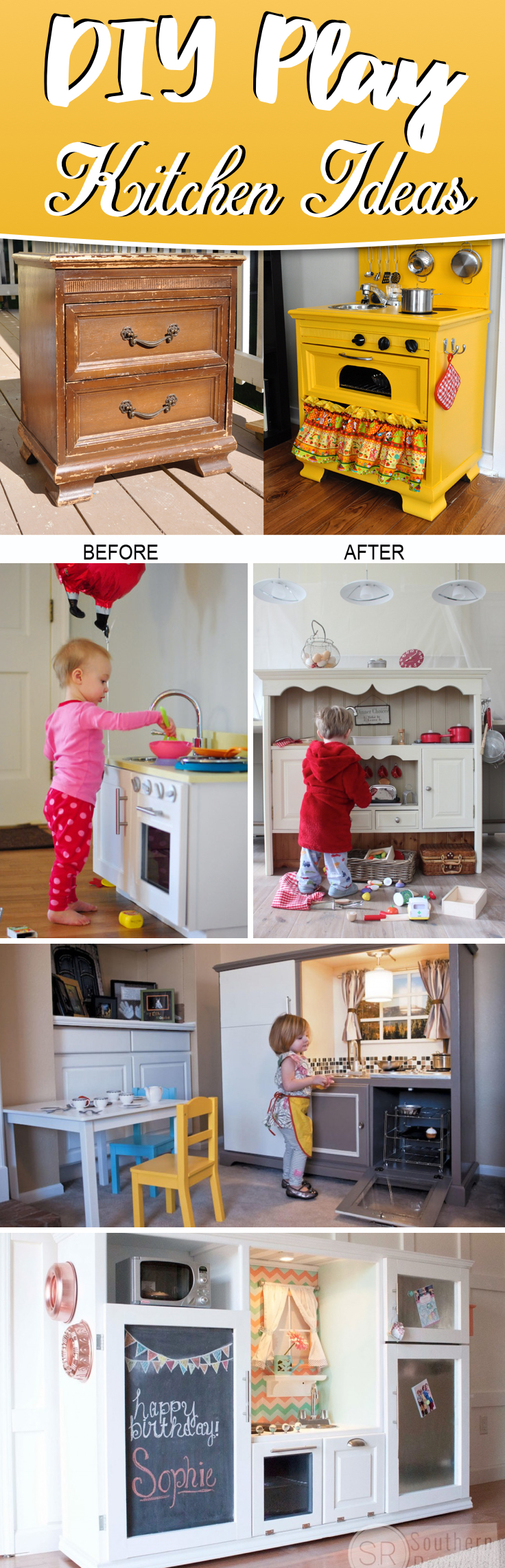 25 Diy Play Kitchen Ideas Apt And Appropriate For Your Little One S Personality