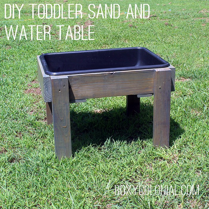 25 awe inspiring diy sandbox ideas for a fun filled summer for Diy sand and water table pvc