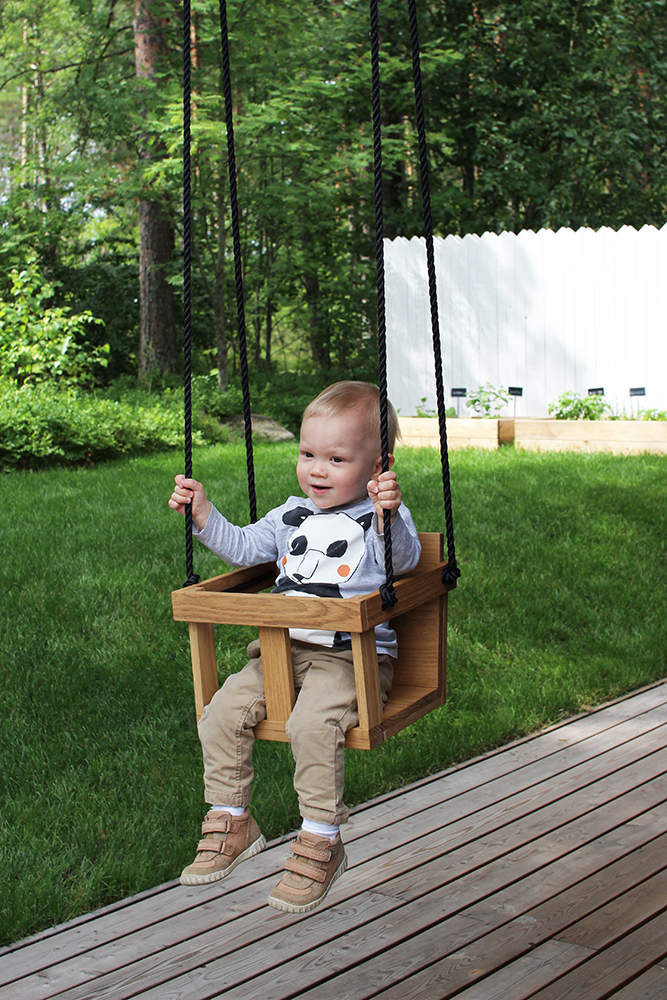 DIY Toddler Wooden Swing