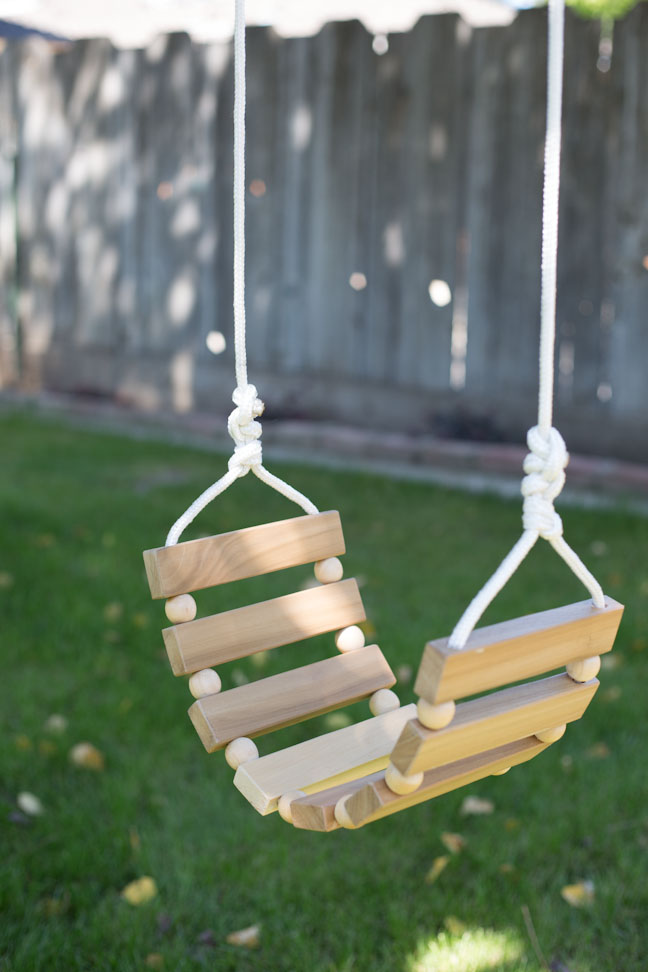DIY Tree Swing for Kids and Adults