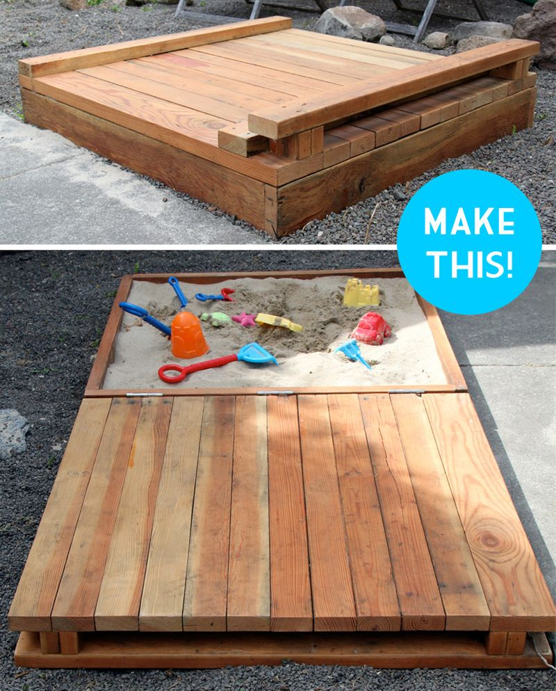 Sandbox Design Ideas el arenero con cubierta explicado sandbox coversandbox ideassandbox Deluxe Diy Sandbox