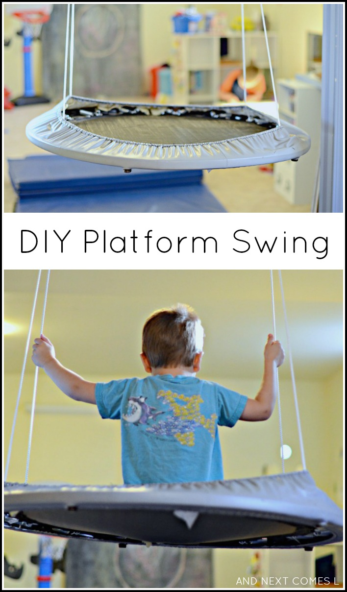 Easy DIY Platform Swing