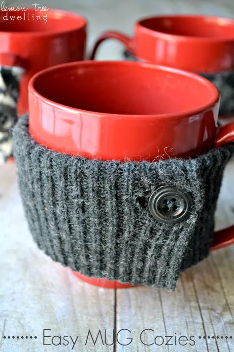 Easy Mug Cozies