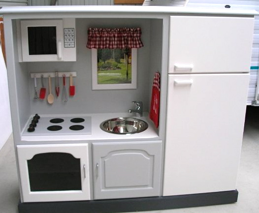 Handmade Play Kitchen