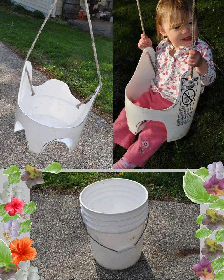 How to Make a Bucket Swing