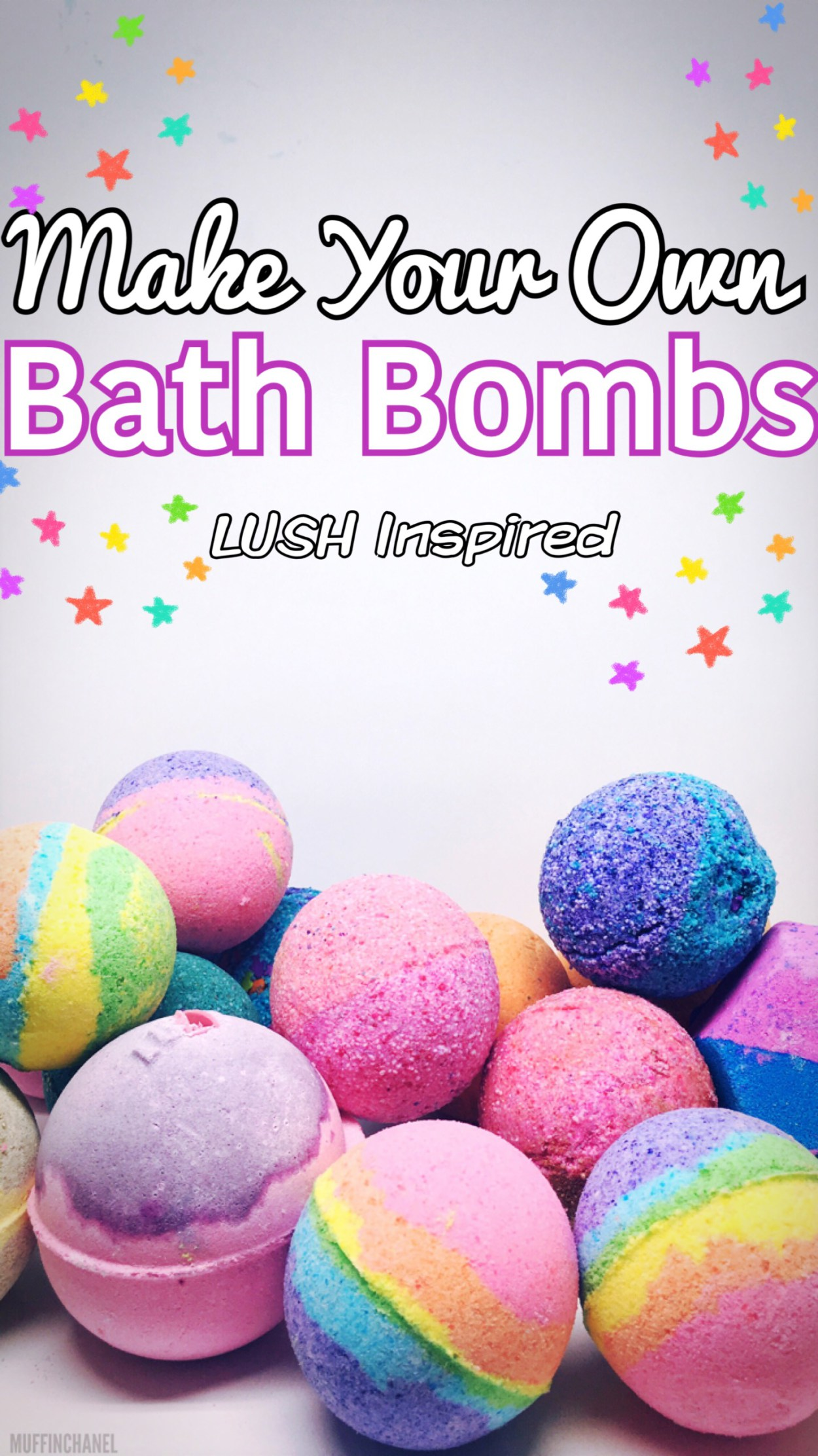 Lush Inspired Bath Bombs