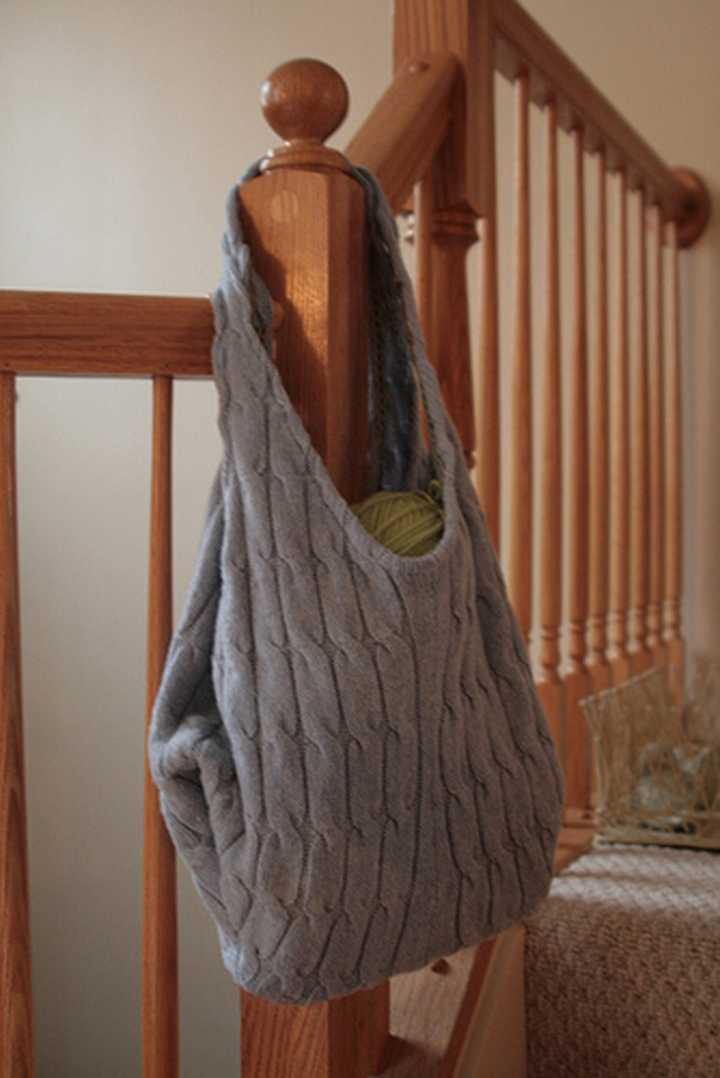 Old Sweater Bag