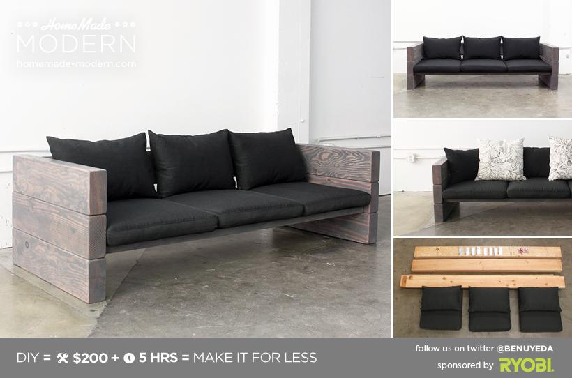 Outdoor Sofa Cute Diy Projects, Diy Modern Furniture