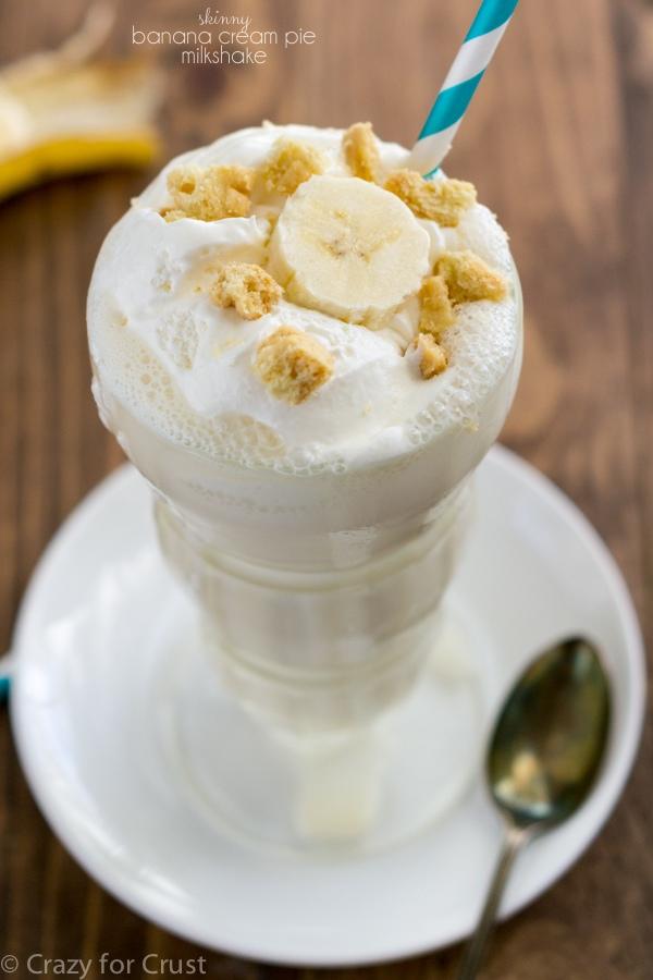 Skinny Banana Cream Pie Milkshake