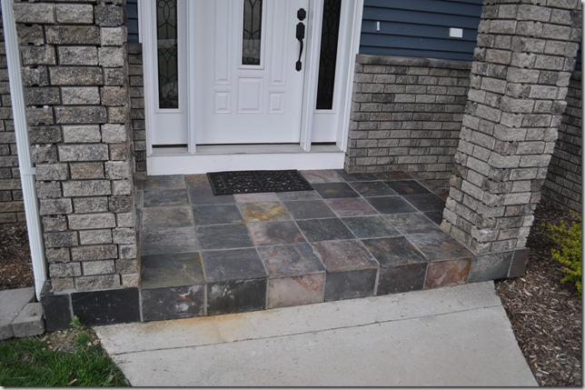 Slate Tile Porch