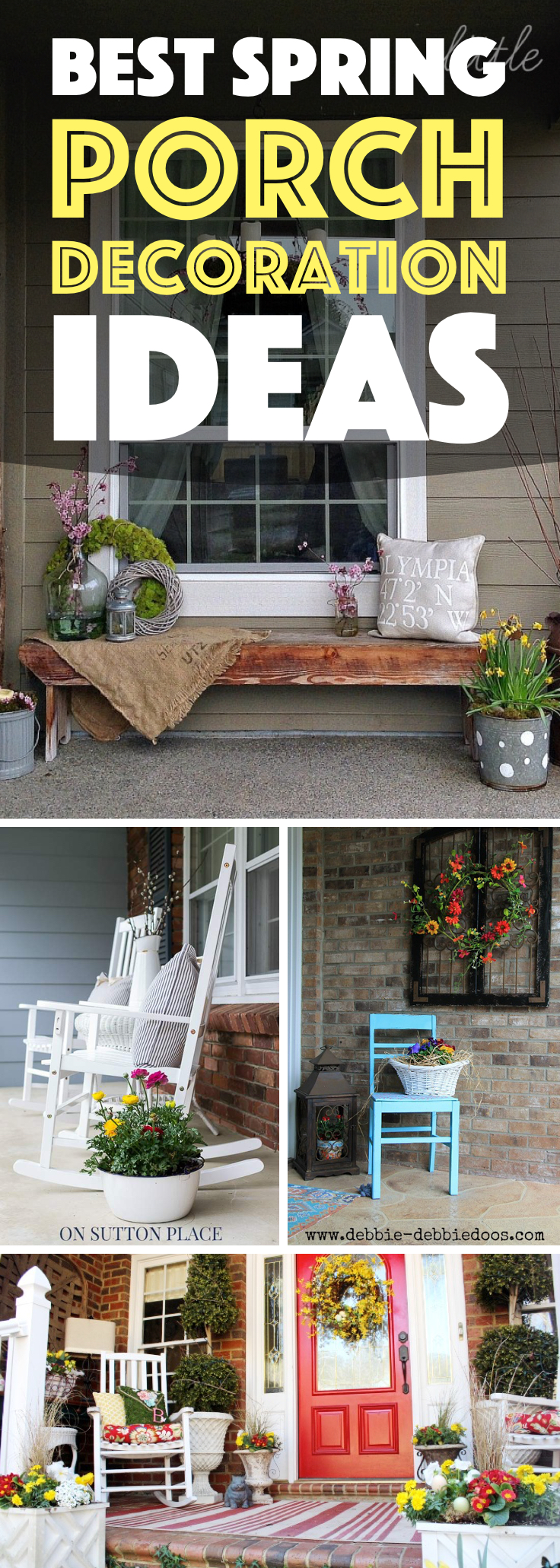 Spring Porch Decoration Ideas