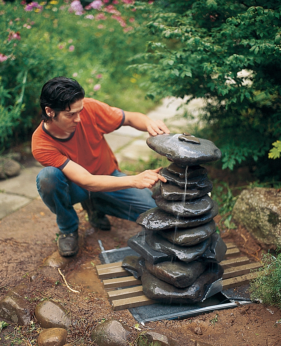 20 DIY Outdoor Fountain Ideas Brightening up your Home with ... Rustic Backyard Fountain Ideas on rustic gardening, garden fountains, beautiful backyard fountains, classic backyard fountains, tropical backyard fountains, modern backyard fountains, unique backyard fountains, elegant backyard fountains, large backyard fountains, wood backyard fountains, small backyard fountains, bird baths and fountains,
