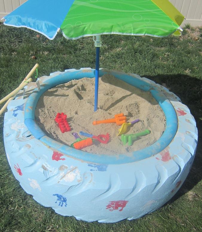 Tire Sandbox