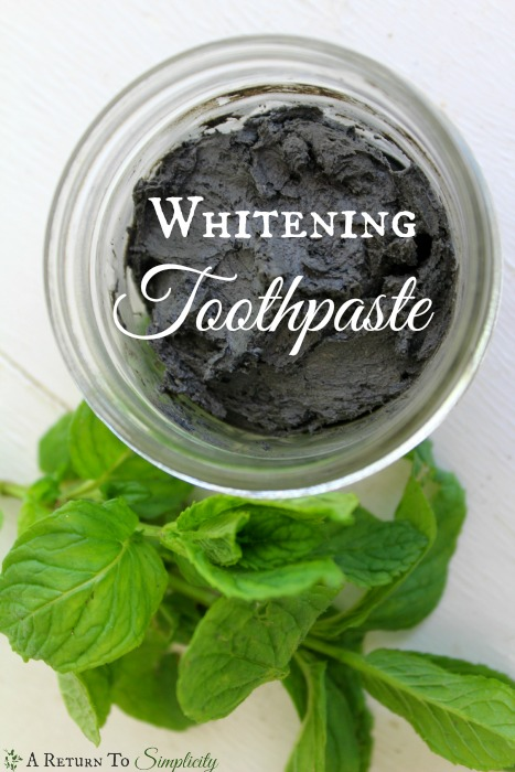 Whitening Toothpaste Recipe