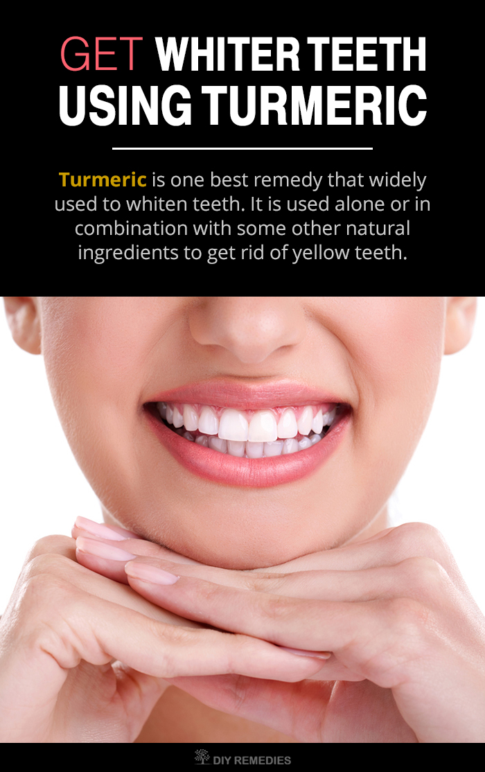 Whiter Teeth with Turmeric