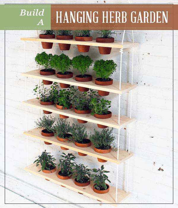 Build A Hanging Herb Garden