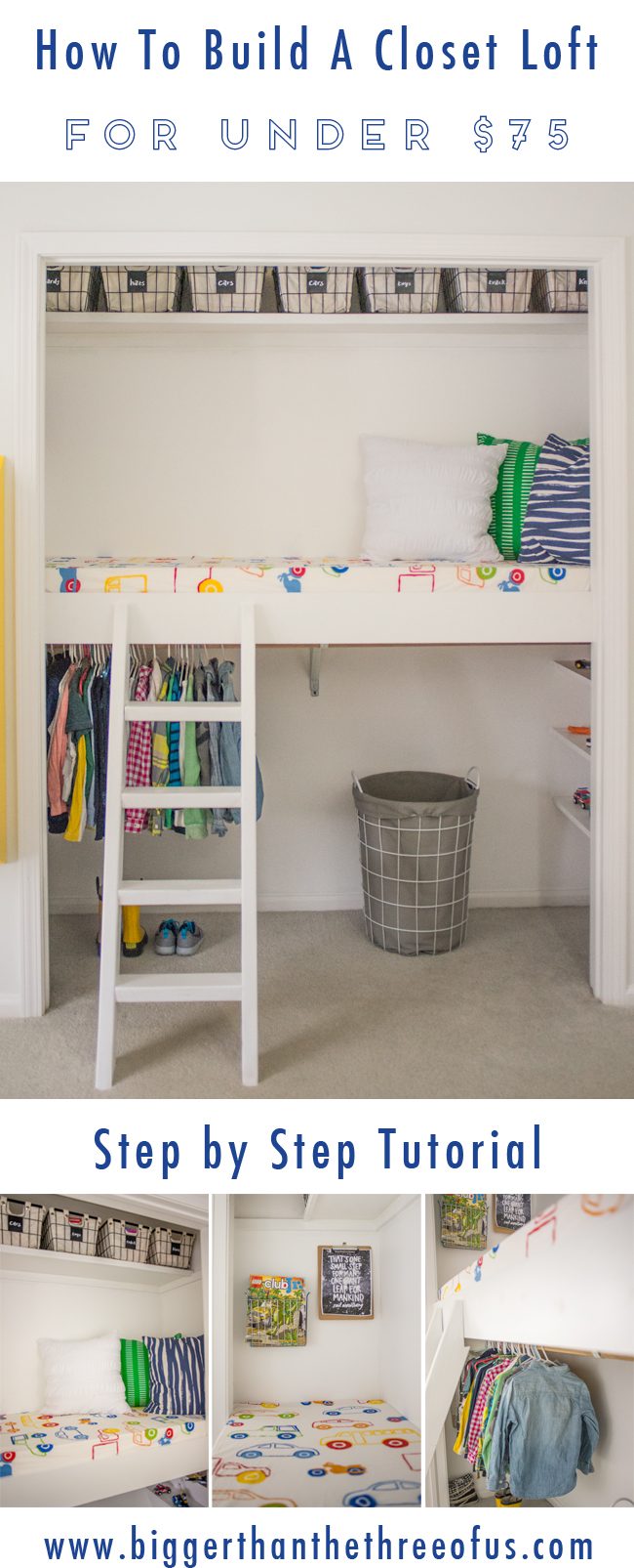 Build a Closet Loft