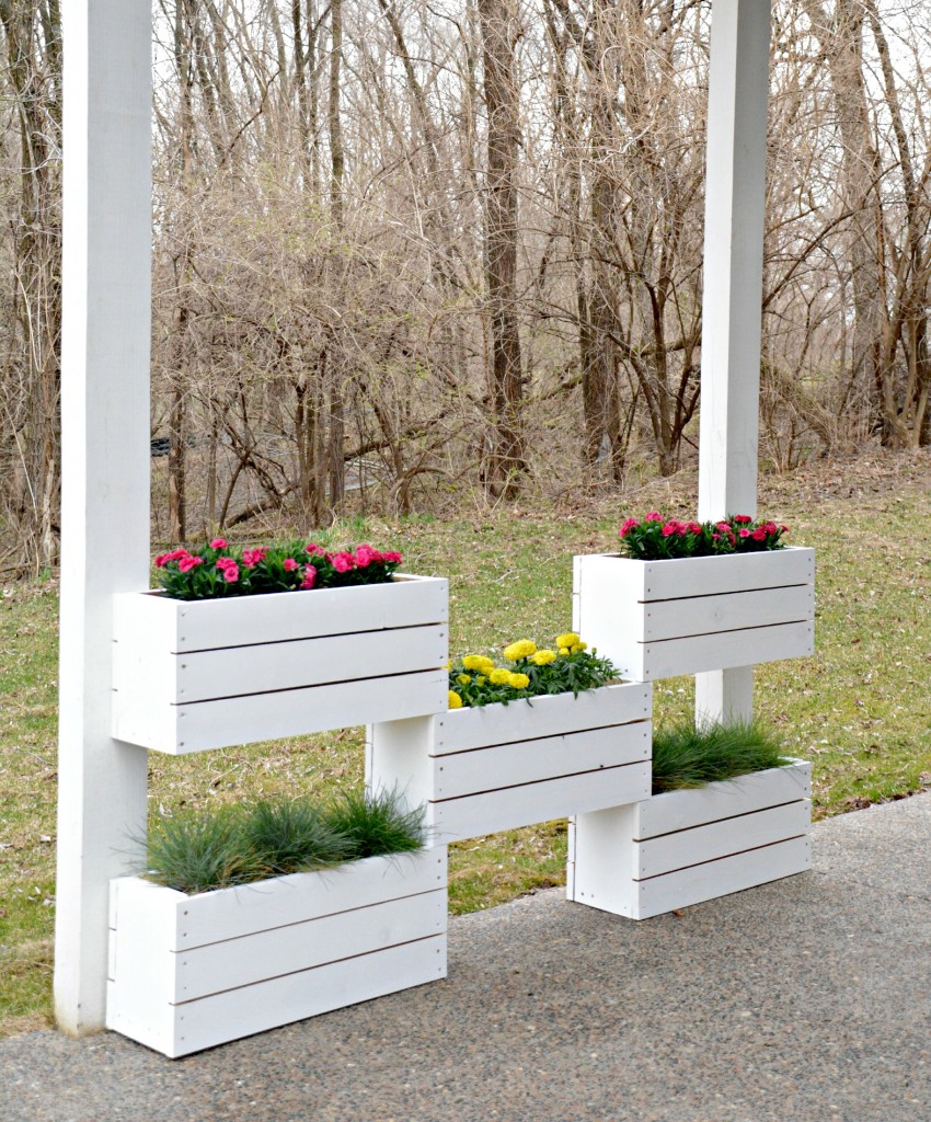 Cedar Box Vertical Garden