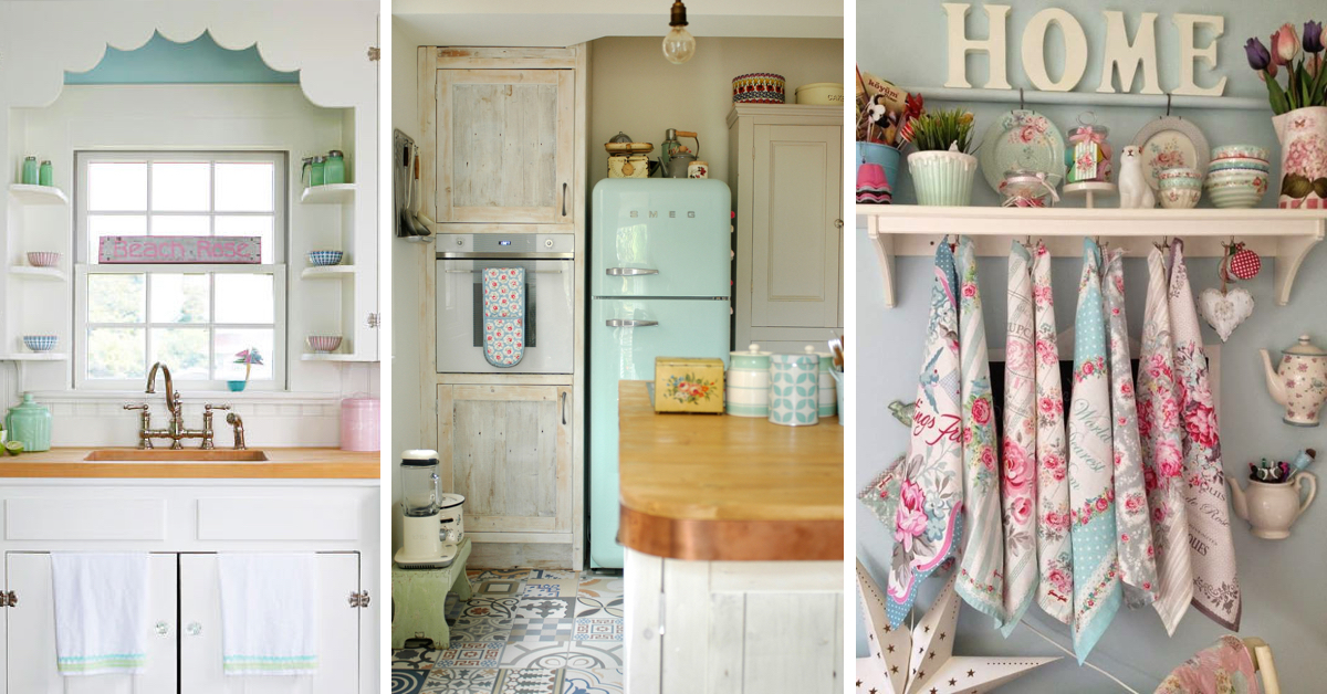 20 Ultra Chic Vintage Kitchen Ideas Inspired By The Last Mid Century! U2013  Cute DIY Projects Nice Design