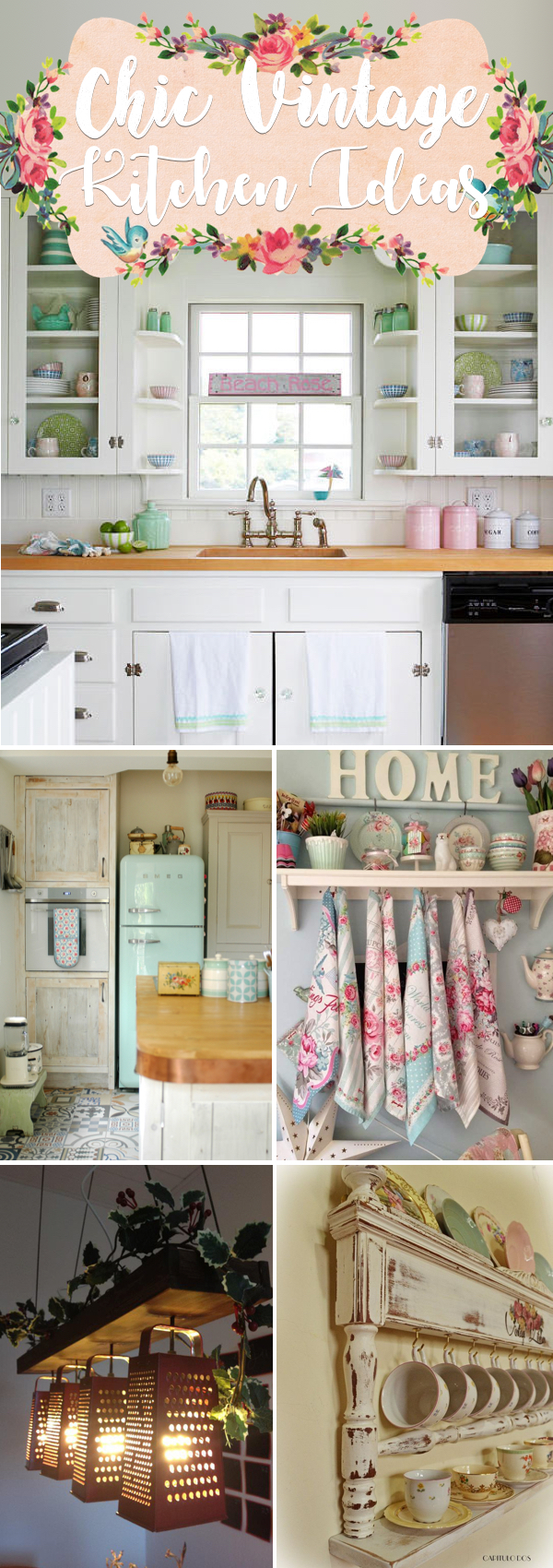 20 Ultra Chic Vintage Kitchen Ideas Inspired By The Last Mid Century Cute Diy Projects