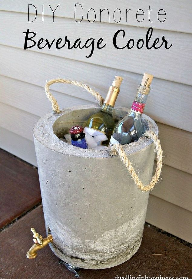 15 DIY Outdoor Cooler Ideas Keeping Your Beverages Chilled