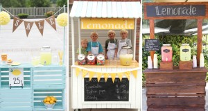 DIY Lemonade Stand Ideas