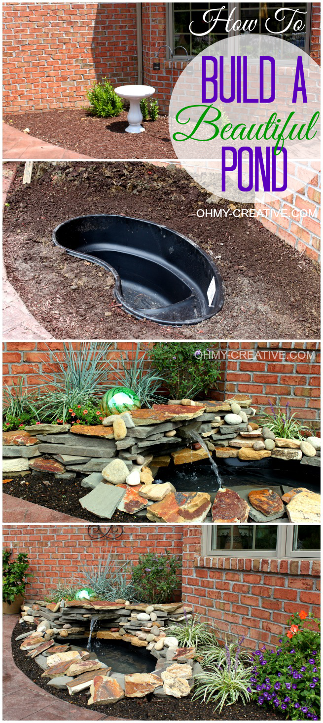 DIY Pond and Landscape Water Feature