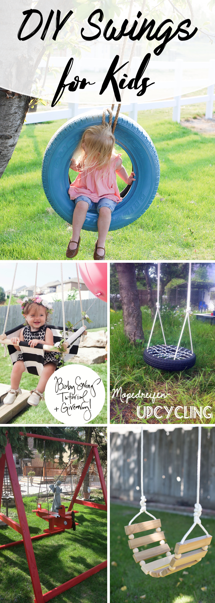 DIY Swings for Kids