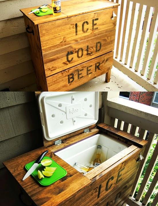 Dresser Ice Chest Cooler