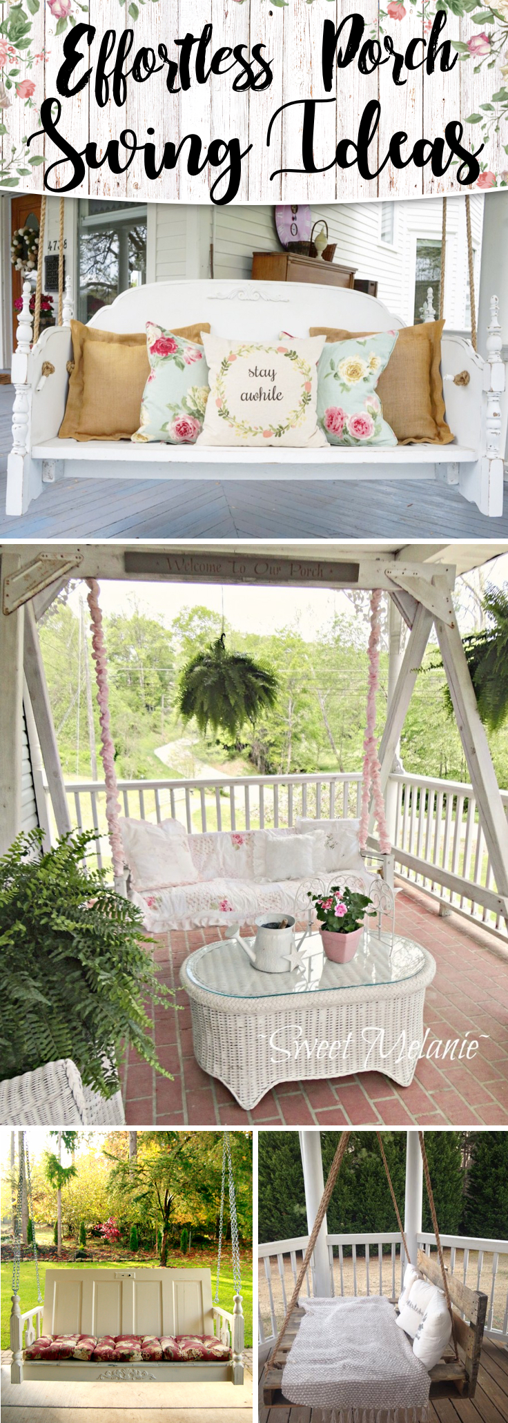 Effortless Porch Swing Ideas