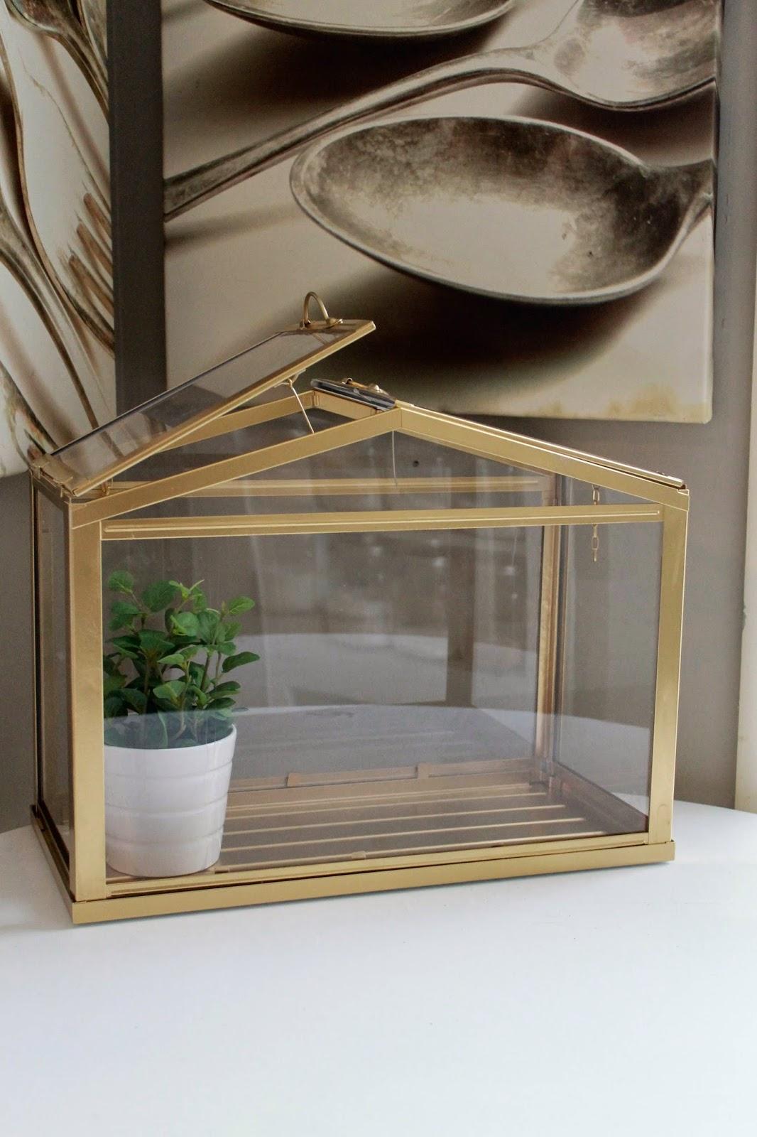 Gold Terrarium/ Green House
