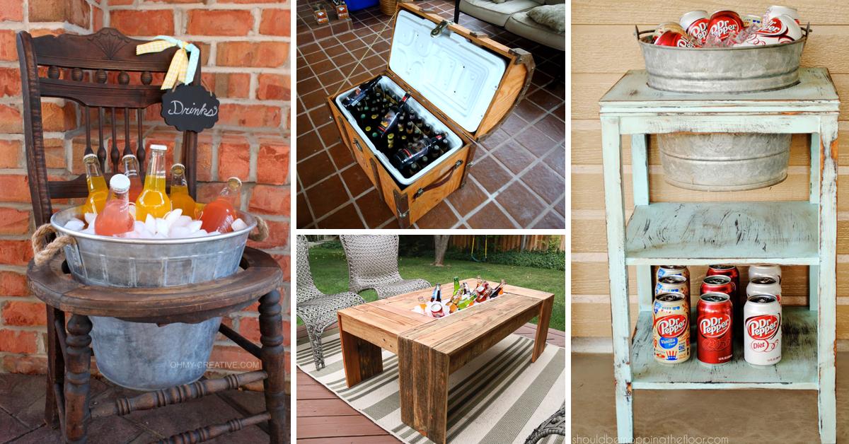 20 Innovative Outdoor Cooler Ideas