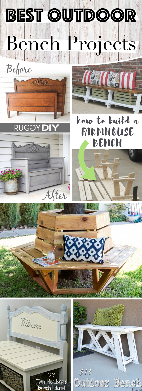 Outdoor Bench Projects