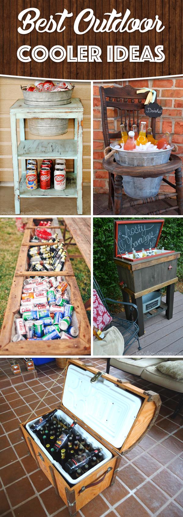 Outdoor Cooler Ideas