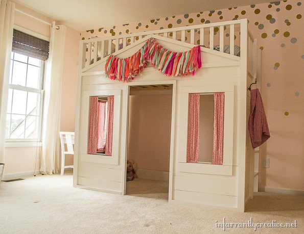 Pottery Barn Cottage Loft Bed Knock-Off