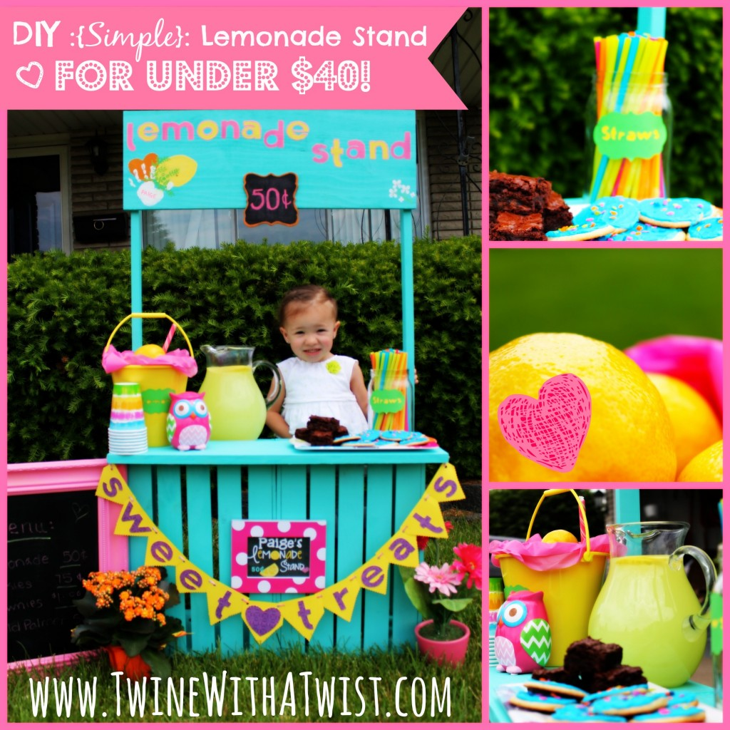 25 Effortless DIY Lemonade Stand Ideas Making Your Summer Parties
